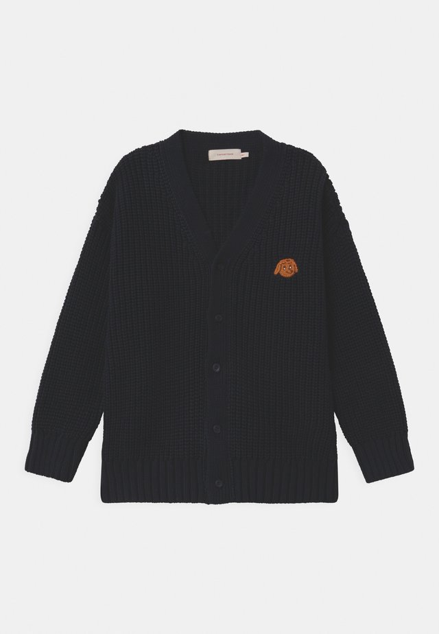 TINY DOG CHUNKY - Cardigan - navy