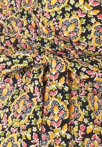 MAMALICIOUS - NURSING DRESS - Vestido informal - black/colored leafs - 2