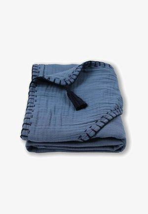 Muslin  - Bath towel - indigo blue