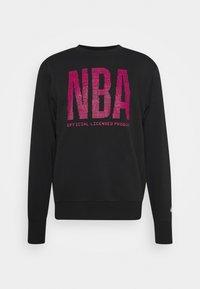 Nike Performance - NBA TEAM  WASH PACK CREWNECK - Sweatshirt - black - 3