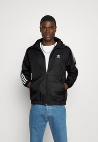 adidas Originals - UNISEX - Training jacket - black/white - 0