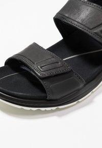 ECCO - X-TRINSIC - Walking sandals - black - 5