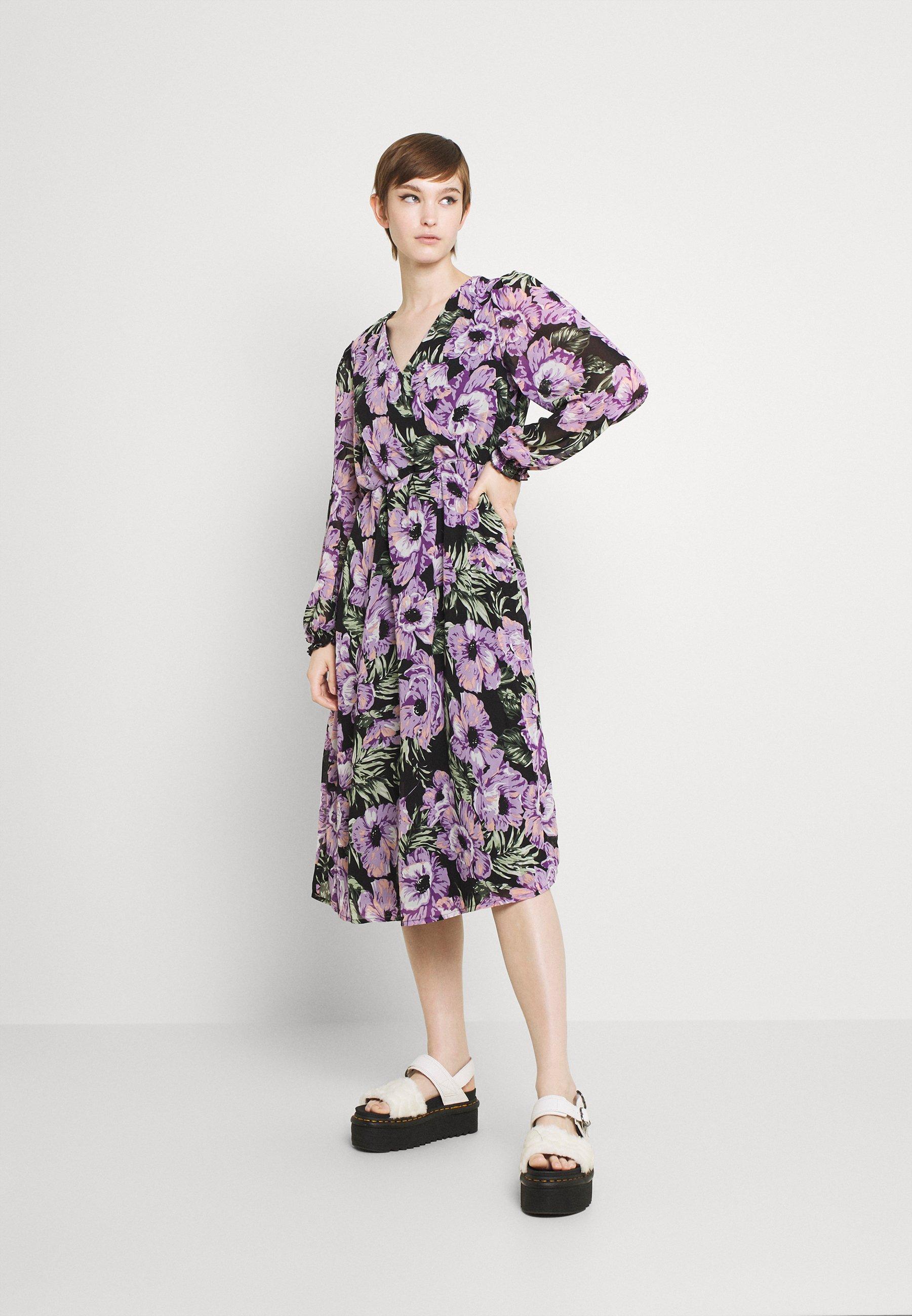 Mujer VIWESTAM WRAP DETAIL MEDI DRESS - Vestido informal
