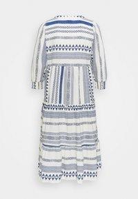 Vero Moda Petite - VMDICTHE CALF DRESS - Day dress - birch/new dicthe/sodalite blue - 1