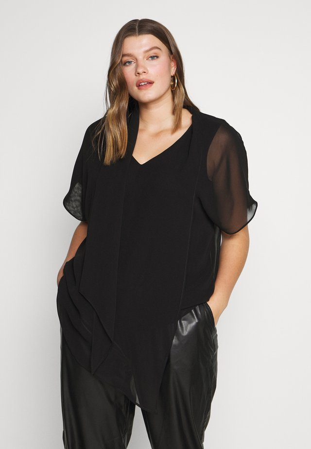 BLOUSE - Pusero - black