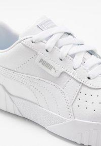 Puma - CALI - Trainers - white/high rise - 2