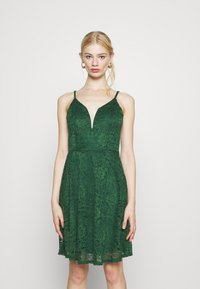 WAL G. - CAMRYN STRAPPY SKATER DRESS - Cocktail dress / Party dress - forest green - 0