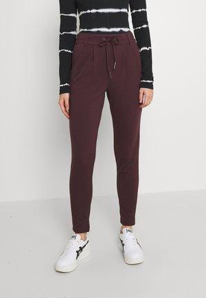 POPTRASH EASY COLOUR PANT - Trousers - bordeaux