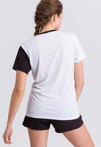 Erima - Print T-shirt - white/black - 2