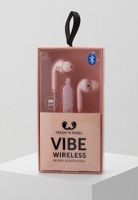 Fresh 'n Rebel - VIBE WIRELESS IN EAR HEADPHONES - Headphones - cupcake - 2