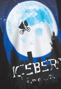 Iceberg - T-shirt con stampa - black - 6
