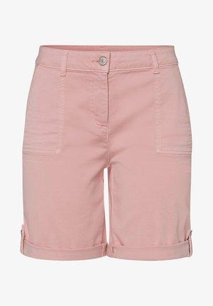 Denim shorts - peach sorbet