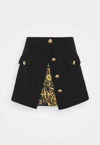 Versace Jeans Couture - SKIRT - Mini skirt - black - 4