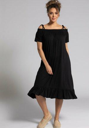 Jerseyklänning - schwarz