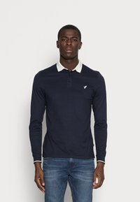 Pier One - MUSCLE FIT - Polo - dark blue - 0