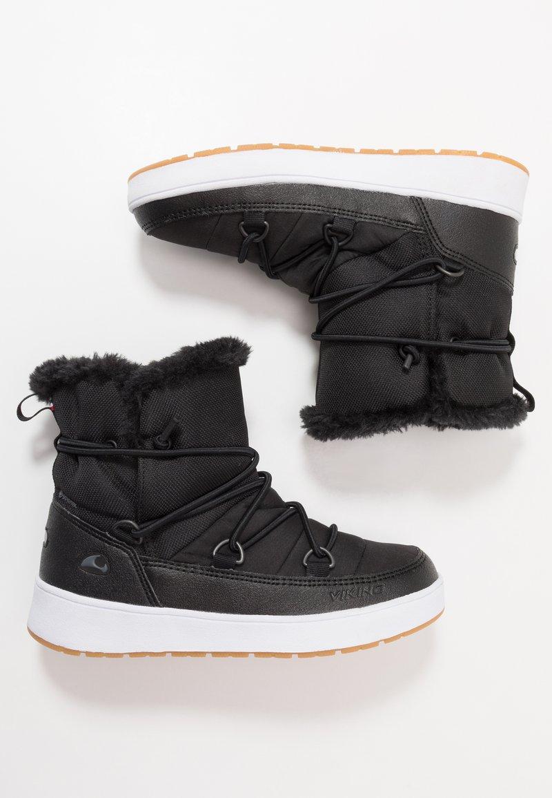 Viking - SNOFNUGG GTX - Zimní obuv - black/charcoal