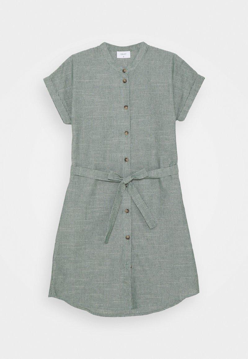 Grunt - CAMILLE DRESS - Shirt dress - green