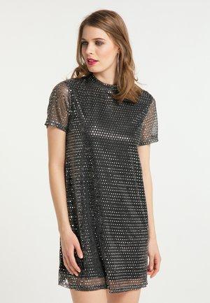 Cocktail dress / Party dress - schwarz silber