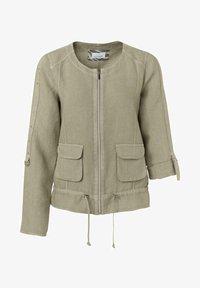 JUST WHITE - Summer jacket - khaki - 0