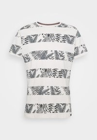 TEE - Print T-shirt - egret