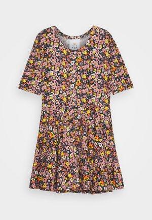 TRY DRESS - Jersey dress - multi-coloured