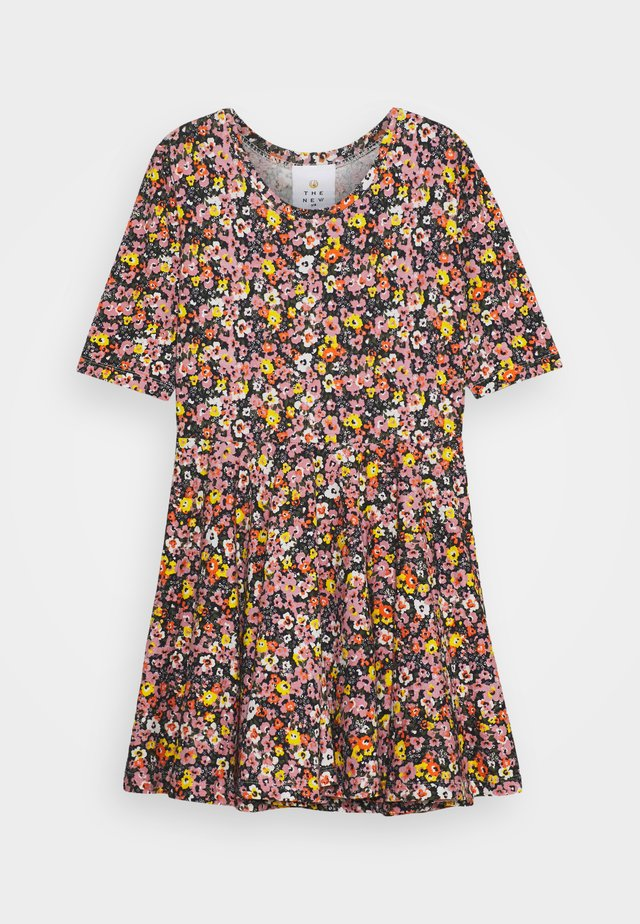 TRY DRESS - Jersey dress - multi-coloured