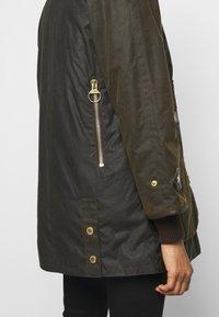 Barbour - NORWOOD WAX - Short coat - olive classic - 9