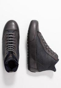 Candice Cooper - PLUS MONT - Sneakers high - antracite/tamponato antracite - 3