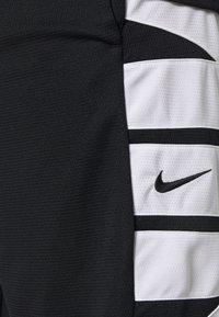 Nike Performance - Sportovní kraťasy - black/white - 5