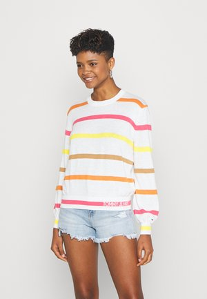 STRIPE - Jumper - ecru/multi