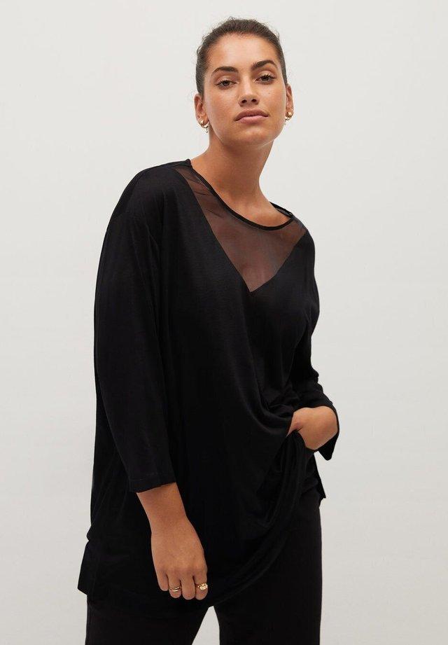 ARACHEL - Long sleeved top - schwarz