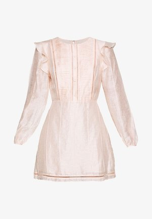 SUNDAY MORNING MINI DRESS - Vestido informal - peach