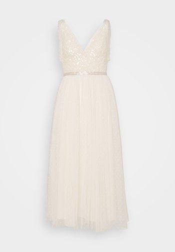 AURELIA BODICE CAMI BALLERINA DRESS - Společenské šaty - champagne