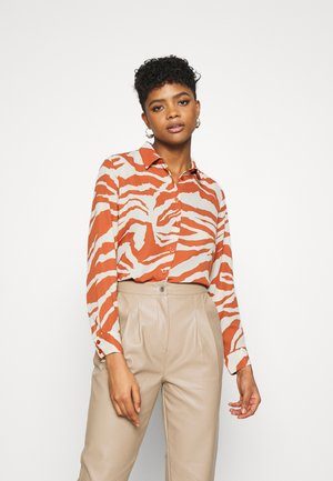 ASSA BLOUSE - Button-down blouse - orange