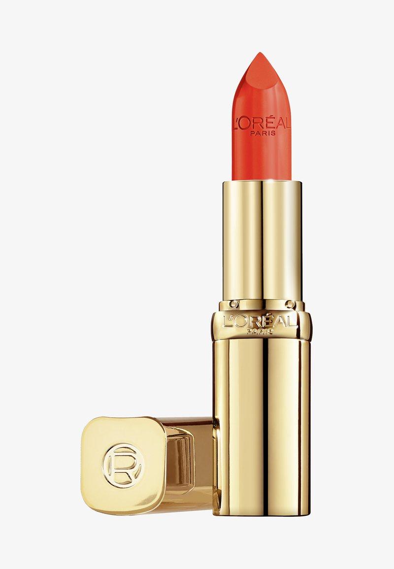 L'Oréal Paris - COLOR RICHE SATIN - Lipstick - 148 chez lui