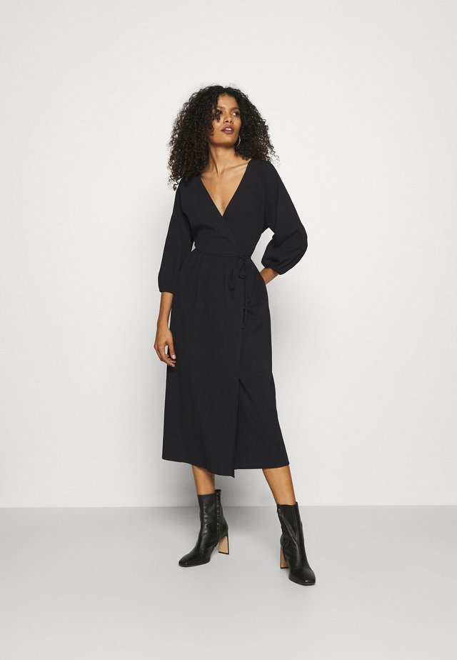 OAKVILLE WRAP DRESS - Robe d'été - black