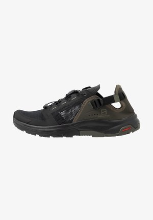 TECH AMPHIB 4 - Hiking shoes - black/beluga/castor gray