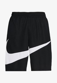 Nike Performance - DRY SHORT - Träningsshorts - black/white - 3