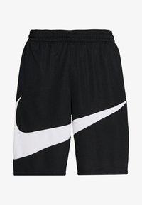 Nike Performance - DRY SHORT - Pantalón corto de deporte - black/white - 3