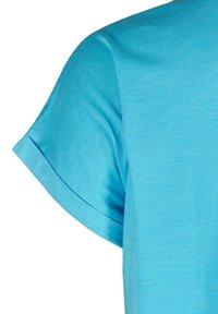 Zizzi - Basic T-shirt - turquoise - 3