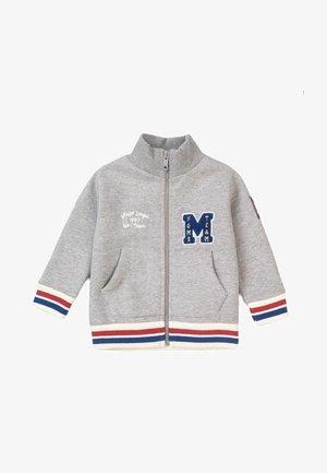 ZIP THRU - Sweater met rits - grey marl