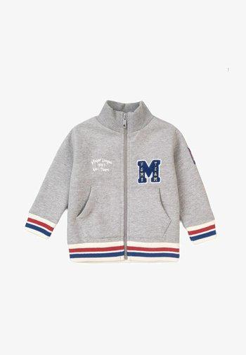 ZIP THRU - Zip-up sweatshirt - grey marl