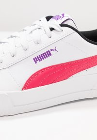 Puma - CARINA  - Trainers - white/energy rose - 2
