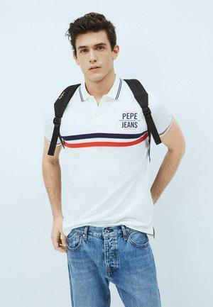 Print T-shirt - blanco off