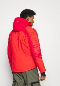CMP - MAN JACKET FIX HOOD - Ski jacket - tango - 2