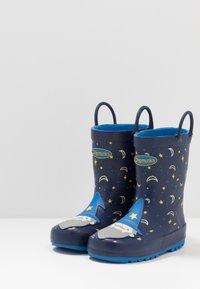 Chipmunks - MERLIN - Bottes en caoutchouc - dark blue - 3