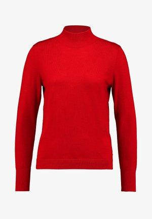 TURTLE NECK BEST BASICS - Jumper - cranberry red