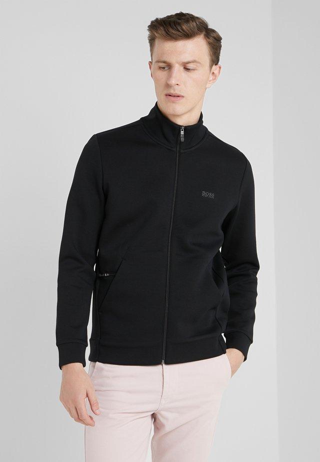 SKAZ  - veste en sweat zippée - black
