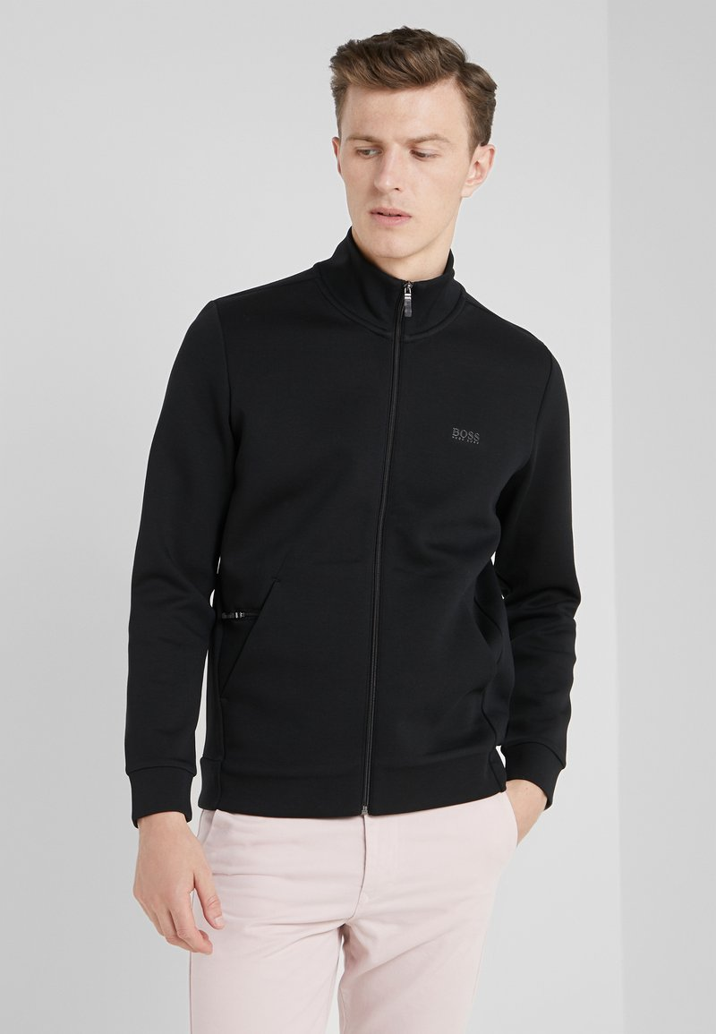 BOSS - SKAZ  - Zip-up hoodie - black