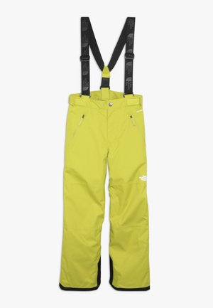 SNOW PANT - Skibukser - citro green